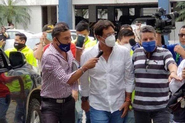 Prefecto Carlos Luis Morales fallece de un infarto, según abogado