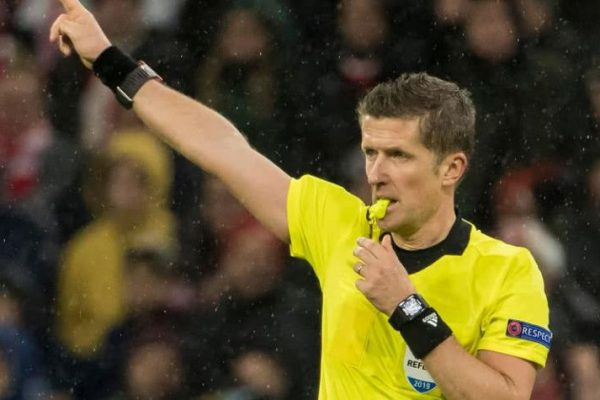 Daniele Orsato, el árbitro de la final de la Champions League