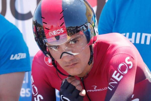 Carapaz ganó la etapa y es líder en Polonia