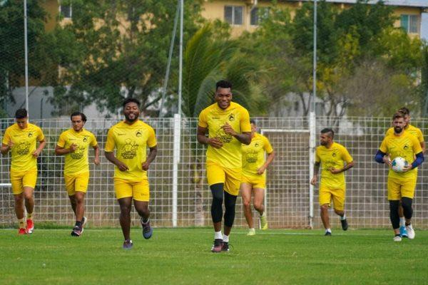 Delfín SC, por el triunfo ante Guayaquil City en Samanes, por la Liga Pro