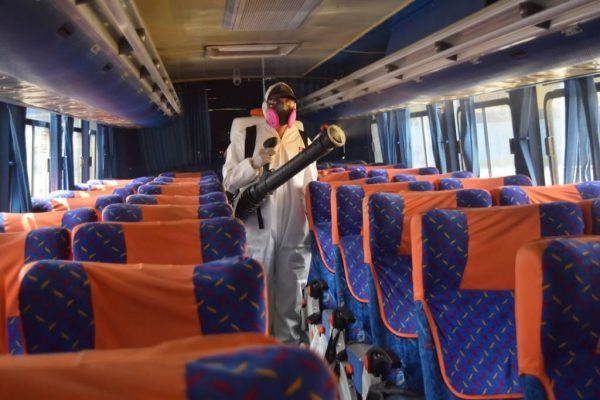 Reanudan los viajes en bus entre Manta y Guayaquil