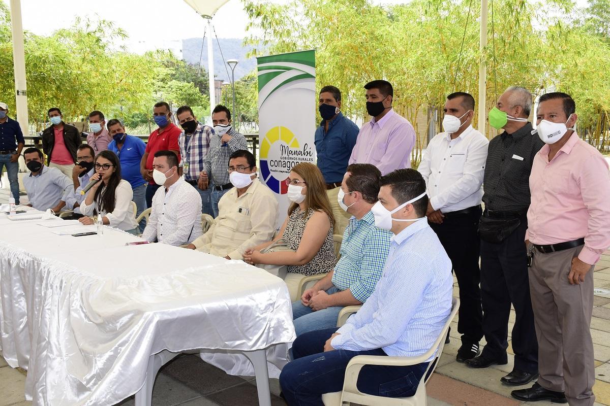 Gobierno de Ecuador le adeuda tres meses de alícuotas a los Municipios de Manabí