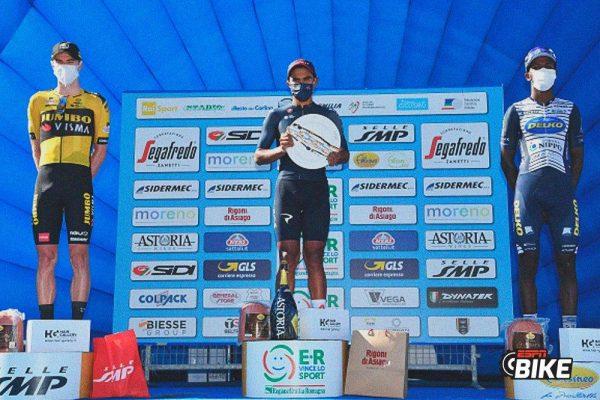 Ciclismo: El ecuatoriano Jhonatan Narváez gana la tercera etapa de la Semana Coppi y Bartali