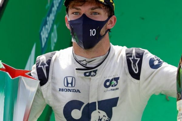 En accidentada carrera, Hamilton no ganó: lo hizo Pierre Gasly